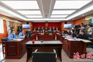 不合法倾倒修建废物入海海南涉事公司三被告被判赔9百余万