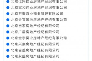 北京21家房地产生意组织被查办因炒作学区房等