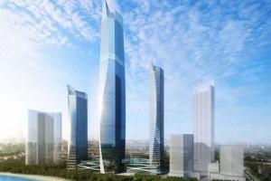 青岛出资137亿在建369米楼房全体造型却遭到网友吐槽